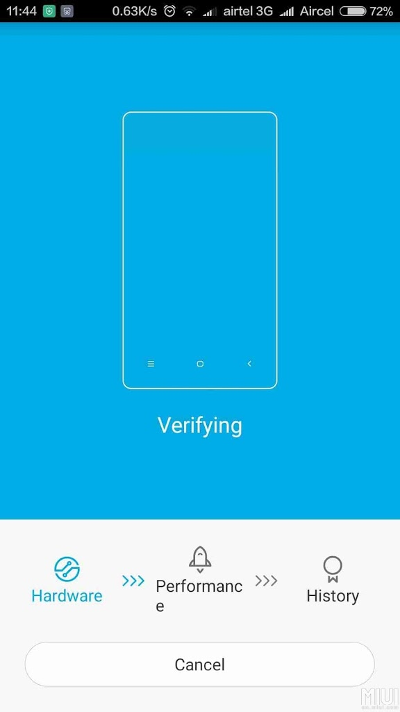 Verify Process-Mi Verification App