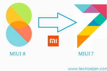Downgrdae MIUI 8 to MIUI 7 Step by Step techsarjan
