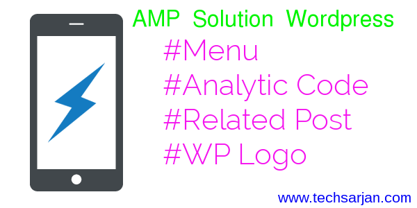 AMP Google Analytic Solution Related post Wp logo Solution