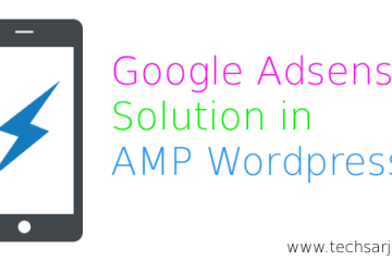 Google adsense solution in amp wordpress