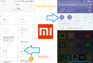 MIUI 8 notes and notification in Redmi 2 Prime