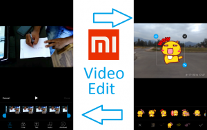 Video Edit in MIUI 8 Redmi 2 Prime