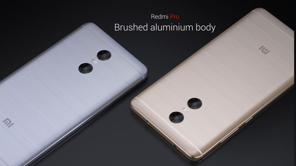 Xiaomi Redmi pro back side view