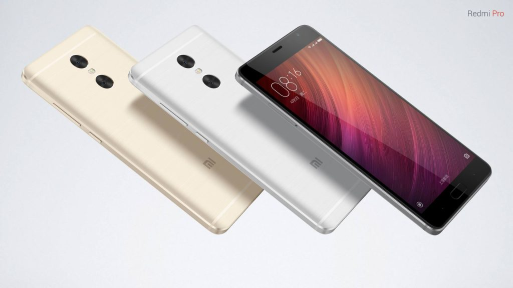 Xiaomi redmi pro in all colours