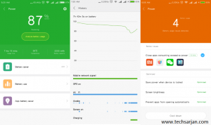 battery stauts in Redmi 2 MIUI 8