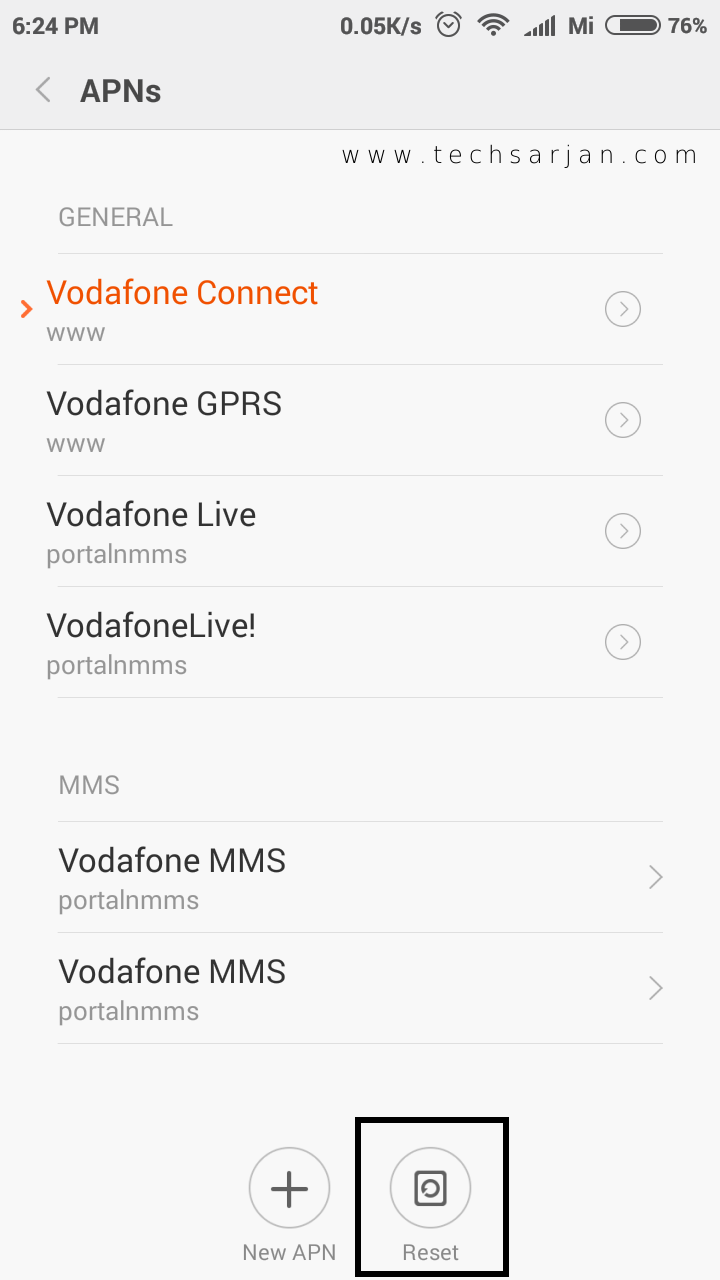 Mobile Data Connection Problem in Xiaomi