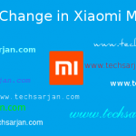 How to Change Font Style in Xiaomi MIUI 8 without Root