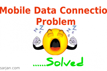 Mobile data connection Problem Solution