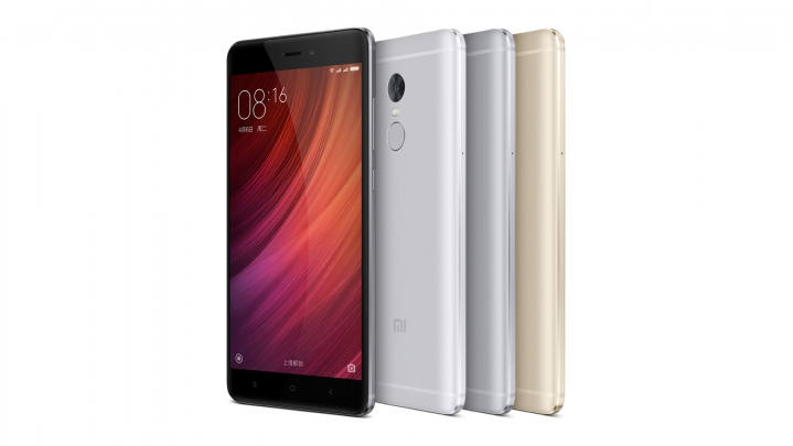 Xiaomi Redmi Note 4 Front View