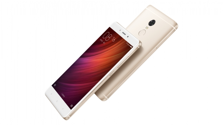 Xiaomi Redmi Note 4 Front back look