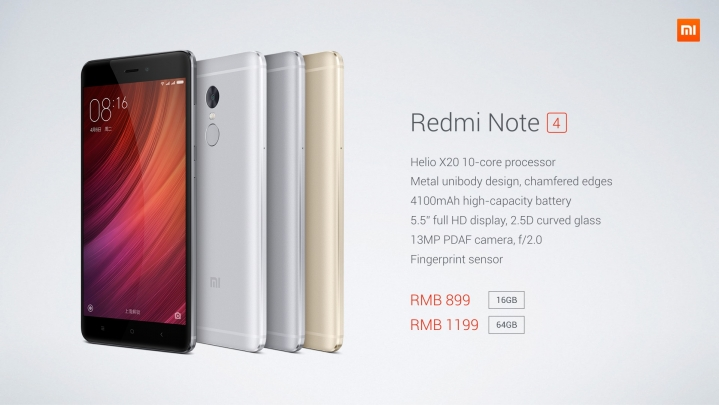 Xiaomi Redmi Note 4 Full detais in image