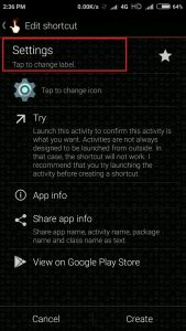 change label option miui font change