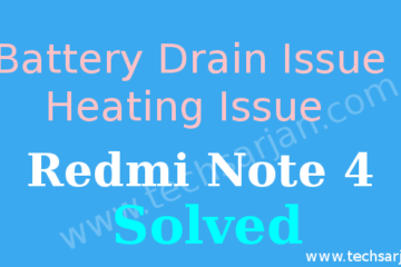 Redmi Note 4 heating issue and battery drain drain solution miui Xiaomi