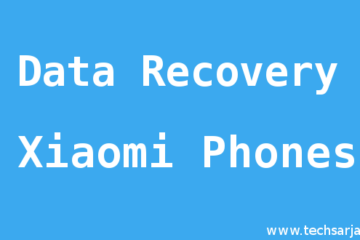Android data recovery in Xiaomi mobiles photo recovery full guide