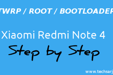 Root twrp install with wuper user in Xiaomi Redmi Note 4 easy steps