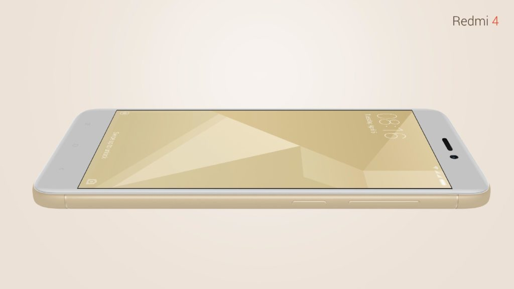 Redmi 4 front view detailed full specification