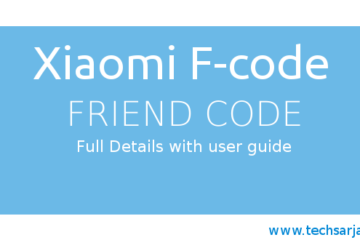 Xiaomi F-code full guide with instruction and users faq miui