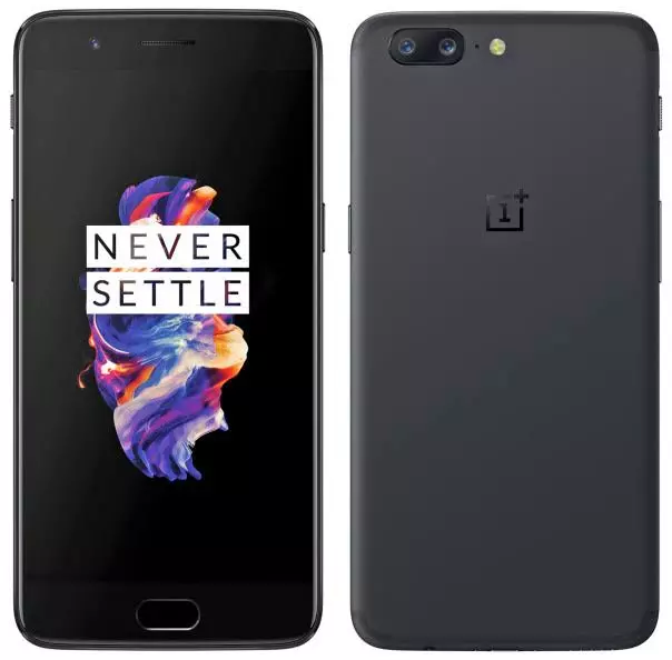 OnePlus 5 Fron and back view - Full detailed view