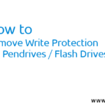 How to Format Write Protected Pen Drive/ USB Flash Drive – Easy Way