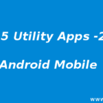 Top 5 Utility Applications for Android 2017