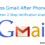 How to login in Gmail when 2-Step Verification enabled and phone lost