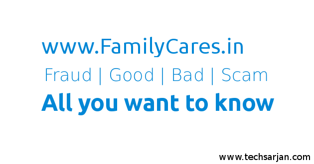 FamilyCares.in website fraud details with pictures
