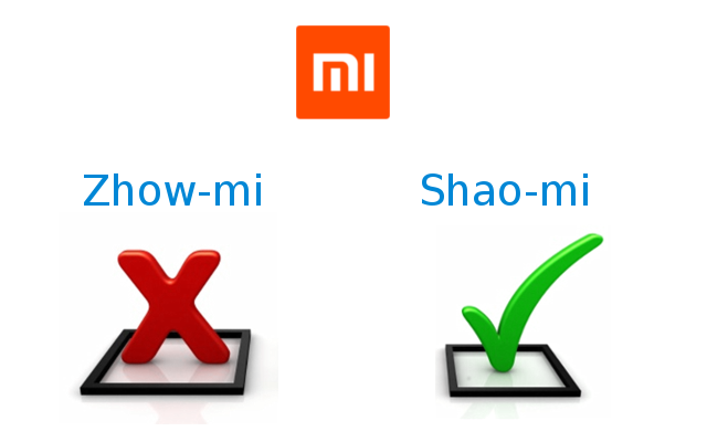 Xiaomi name pronounce Correct way