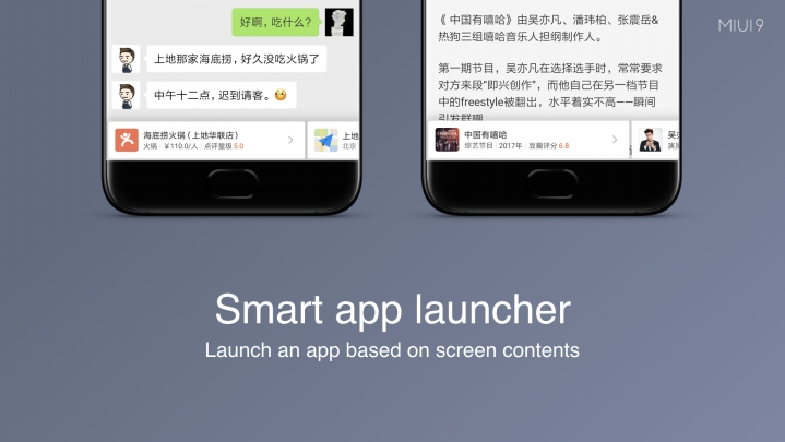 MIUI 9 Smart App Launcher user guide with full details step by step