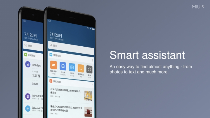 MIUI 9 Smart Assistant Feature full details with review