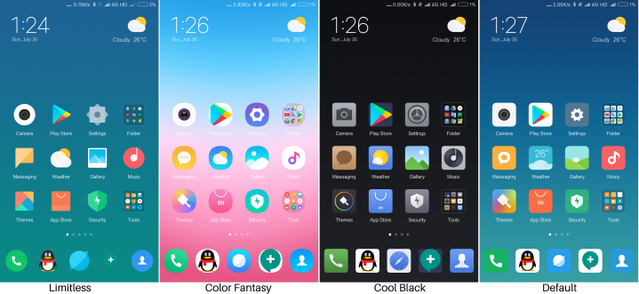MIUI 9 themes intro and download link with features