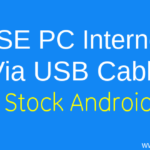 How to Use PC Internet in Latest Android Mobiles (Nougat/Marshmallow)