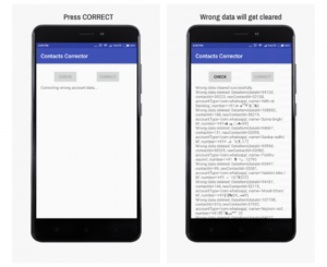 Handle duplicate merge issue in Android Mobile