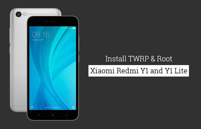 How to Install TWRP Recovery and Root Redmi Y1/Y1 Lite