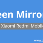 How to Share Mobile Screen on Smart TV in Redmi Mobiles – Screen Mirroring